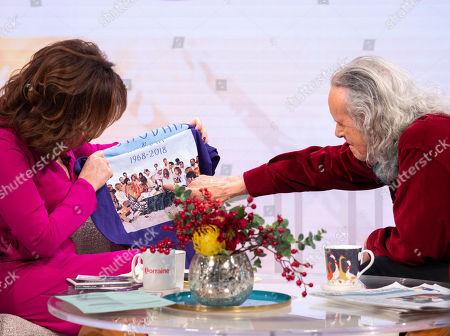 Editorial picture of 'Lorraine' TV show, London, UK - 19 Dec 2018