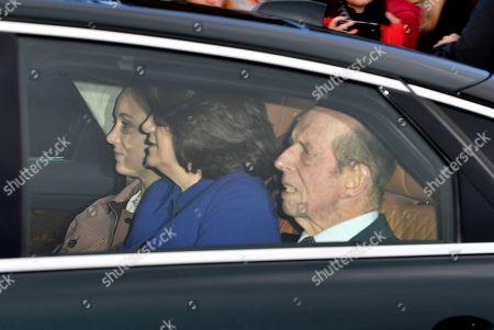 Duke of Kent and Sylvana Windsor, Countess of St Andrews