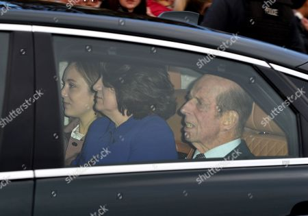 Stock Picture of Duke of Kent and Sylvana Windsor, Countess of St Andrews