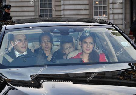 Lord Frederick Windsor, Maud Windsor, Sophie Winkleman