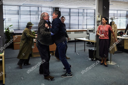 Brenda Blethyn as DCI Vera Stanhope, Peter Davison as Matthew Wells, Adrian Lukis as Graham Caswell, Kenny Doughty as DS Aiden Healy and Seeta Indrani as Sandra Main.