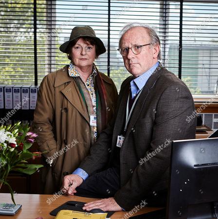 Brenda Blethyn as DCI Vera Stanhope and Peter Davison as Matthew Wells.