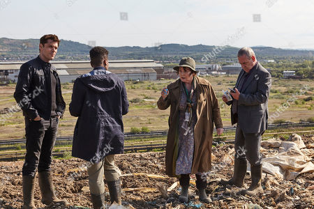 Kenny Doughty as DS Aiden Healy, Ibinabo Jack as DC Jacqueline 'Jac' Williams, Brenda Blethyn as DCI Vera Stanhope and Jon Morris as DC Kenny Lockhart.