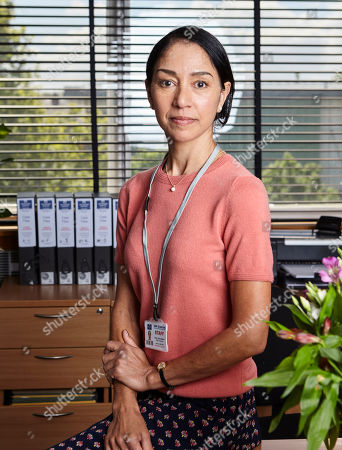 Seeta Indrani as Sandra Main.