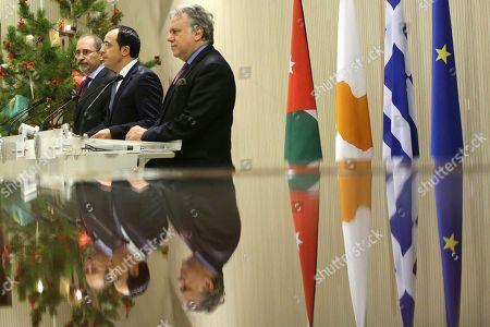 Editorial photo of Greece Jordan, Nicosia, Cyprus - 19 Dec 2018