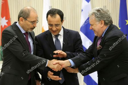 Editorial picture of Greece Jordan, Nicosia, Cyprus - 19 Dec 2018