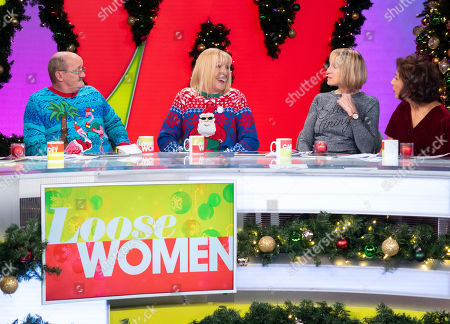 Brendan O'Carroll, Jennifer Gibney, Carol McGiffin and Saira Khan