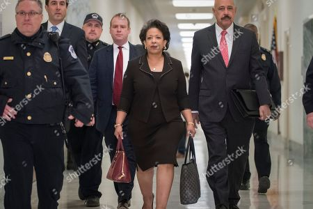 Loretta Lynch, Ted Wells. Former Attorney General Loretta Lynch, with attorney Ted Wells at right, arrives on Capitol Hill in Washington, to appear before the GOP-led House Judiciary and Oversight Committees in their probe of conduct by federal law enforcement officials in the investigation of President Trump's alleged Russia ties, and Hillary Clinton's emails. The panels also interviewed former FBI Director James Comey