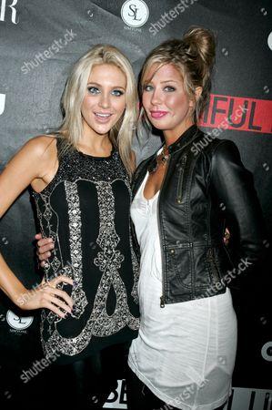Stephanie Pratt and Holly Montag