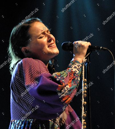 Editorial photo of Emiliana Torrini in concert at Royal Festival Hall, London, Britain - 13 Sep 2009
