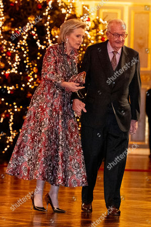 Editorial photo of Belgian Royals attend Christmas Concert, Brussels, Belgium - 19 Dec 2018