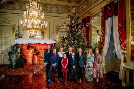 Editorial picture of Belgian Royals attend Christmas Concert, Brussels, Belgium - 19 Dec 2018