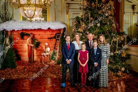 Editorial image of Belgian Royals attend Christmas Concert, Brussels, Belgium - 19 Dec 2018