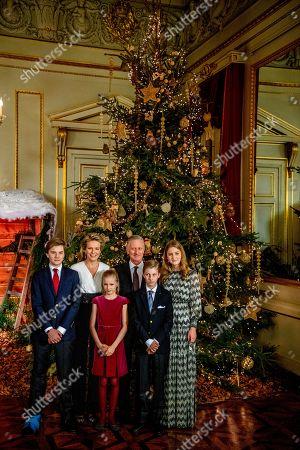 Editorial image of Belgian Royals attend Christmas Concert, Brussels, Belgium - 19 Dec 2018