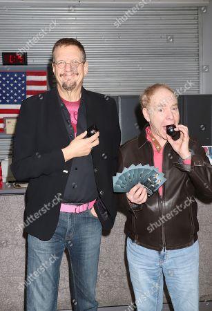 Penn Jillette and Raymond Teller