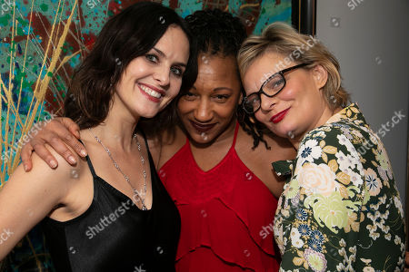 Leanne Best (Jessie), Clare Perkins (Cynthia) and Martha Plimpton (Tracey)