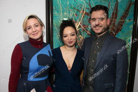 Josie Rourke (Artistic Director), Lynette Linton (Director) and Michael Longhurst