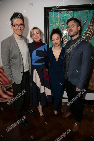 Tom Scutt, Josie Rourke (Artistic Director), Lynette Linton (Director) and Michael Longhurst