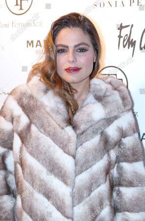 Editorial image of Toni Fernandez show, Arrivals, Madrid, Spain - 18 Dec 2018