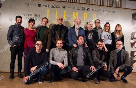 Editorial photo of 'Tiempo Despues' film photocall, Madrid, Spain - 18 Dec 2018