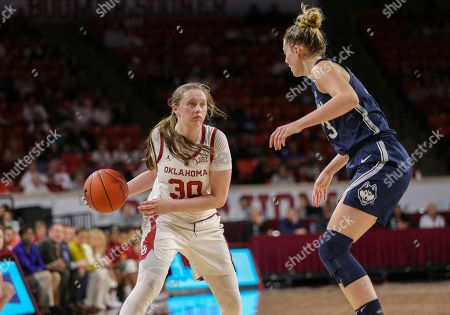 Editorial photo of NCAA Women's Basketball UConn vs Oklahoma, Norman, USA - 19 Dec 2018