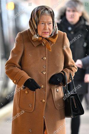 Royal visit to Sandringham