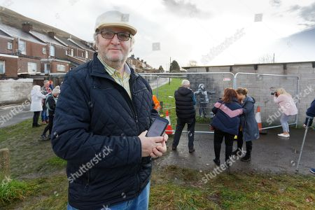 Stock Photo of Gary Owen of Margam who invited Banksy via instagram to Port Talbot