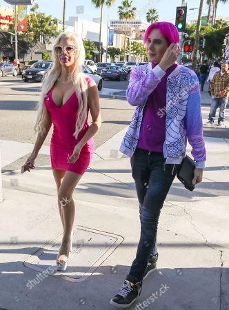 Stock Image of Angelique Morgan and Olivio Ordonez