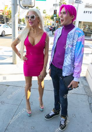 Editorial photo of Angelique Morgan and Justin Jedlica out and about, Los Angeles, USA - 19 Dec 2018