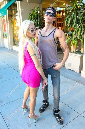 Angelique Morgan and Justin Jedlica