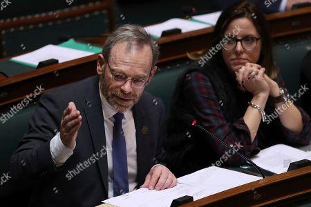 Editorial picture of Government, Brussels, Belgium - 20 Dec 2018