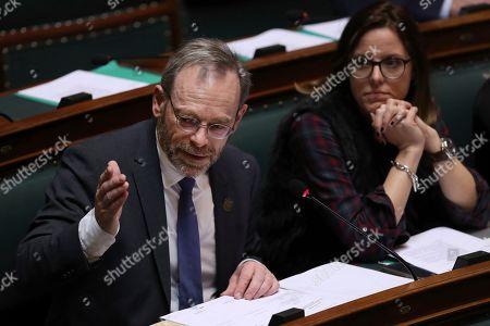 Editorial image of Government, Brussels, Belgium - 20 Dec 2018