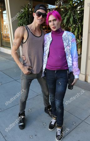 Justin Jedlica and Oli London
