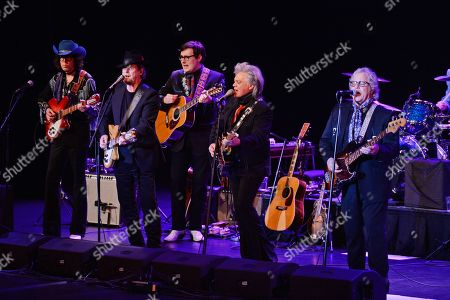 Stock Picture of Roger McGuinn, Marty Stuart, Chris Hillman