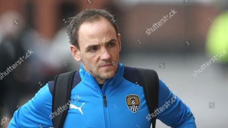 David Vaughan arrives at Meadow Lane