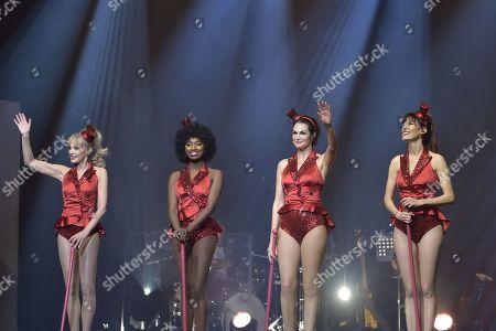 Les Parisiennes - Arielle Dombasle, Mareva Galanter, Inna Modja and Helena Noguerra