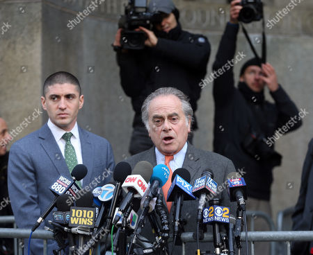 Editorial image of Harvey Weinstein sexual assault case hearing, New York, USA - 20 Dec 2018