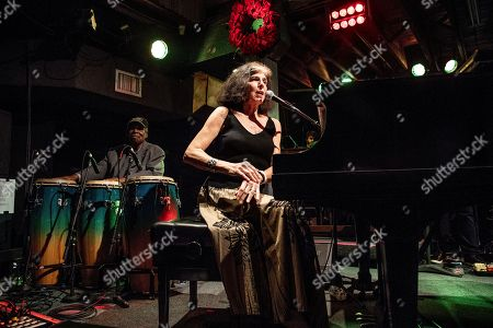Marcia Ball performs at The Professor Longhair 100th Birthday Tribute Concert at Tipitina's, in New Orleans