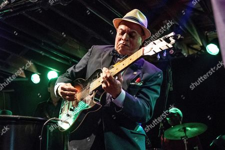 Deacon John performs at The Professor Longhair 100th Birthday Tribute Concert at Tipitina's, in New Orleans