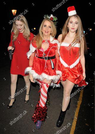 Skylar McKeith, Gillian McKeith and Afton McKeith