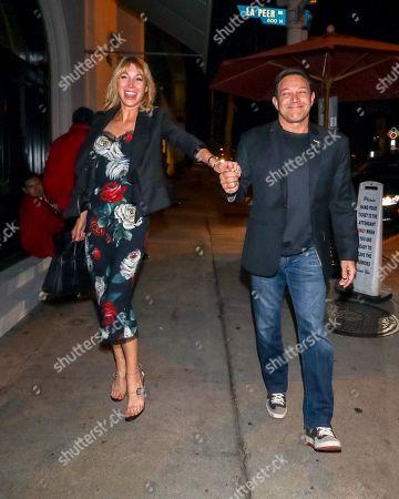 Jordan Belfort and Anne Koppe