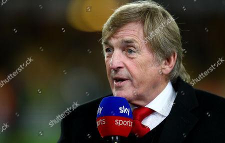 Kenny Dalglish speaking on Sky Sports