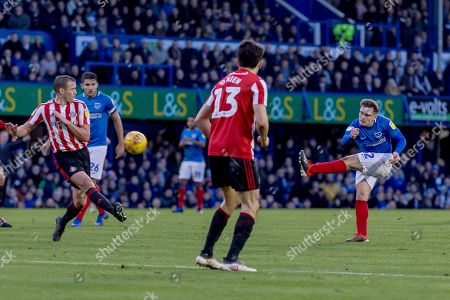Stock Picture of Ben Thomson of Portsmouth shoots