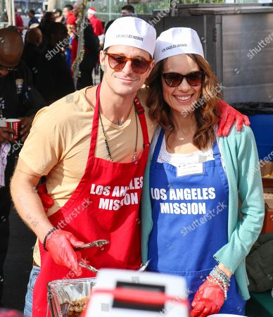 Cameron Douglas and Viviane Thibes