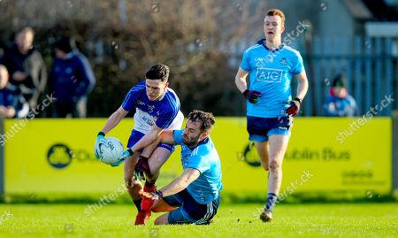Dublin vs Dub Stars. Dublin's Declan Monaghan with Stephen Smith of the Dub Stars