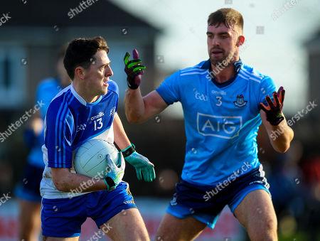 Dublin vs Dub Stars. Dublin's Sean McMahon with Stephen Smith of the Dub Stars