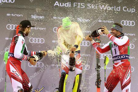 Editorial photo of Alpine Skiing World Cup in Madonna di Campiglio, Italy - 22 Dec 2018