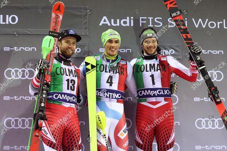 Editorial picture of Alpine Skiing World Cup in Madonna di Campiglio, Italy - 22 Dec 2018