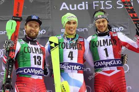 Editorial image of Alpine Skiing World Cup in Madonna di Campiglio, Italy - 22 Dec 2018