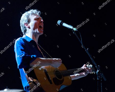Editorial image of Joel Plaskett Emergency in concert at Danforth Music Hall, Toronto, Canada - 21 Dec 2018